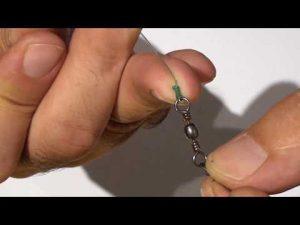 איך לקשור חוט לסביבל קרס, מתאים לחוט בד או ניילון