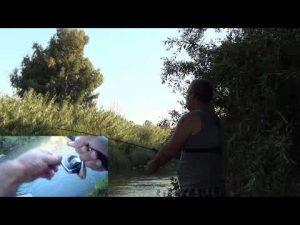 מפלצת נהר על אולטרה לייט דייג בירדן