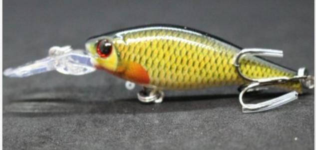 דמוי סיני לטרולינג או זרזור Minnow Crankbait Fishing