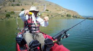 מדריך לג'יג מקיאק או סירה בכנרת, איך דגים בג'יג