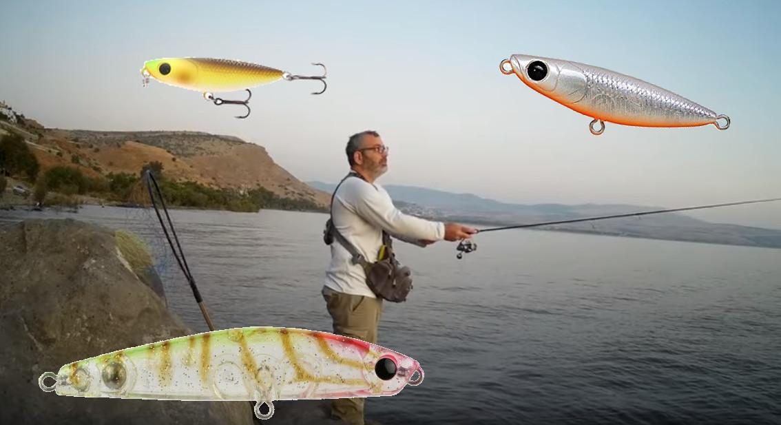 איך לדוג בכנרת עם טופווטר TOPWATER, towadi  ודומיו